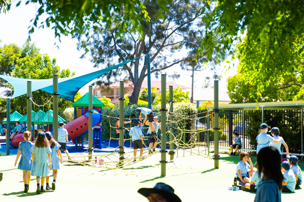 St Therese Mascot Catholic Primary School Facilities Outdoor Spaces Playground
